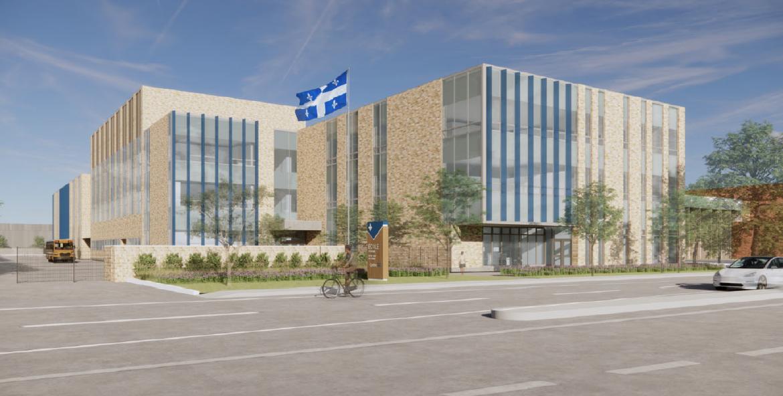 École Irénée-Lussier : Une nouvelle école pour 250 élèves à besoins particuliers