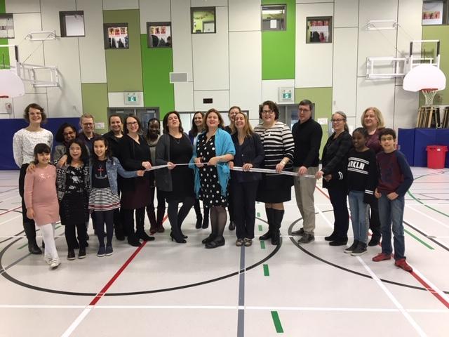 Inauguration à l'école François-de-Laval