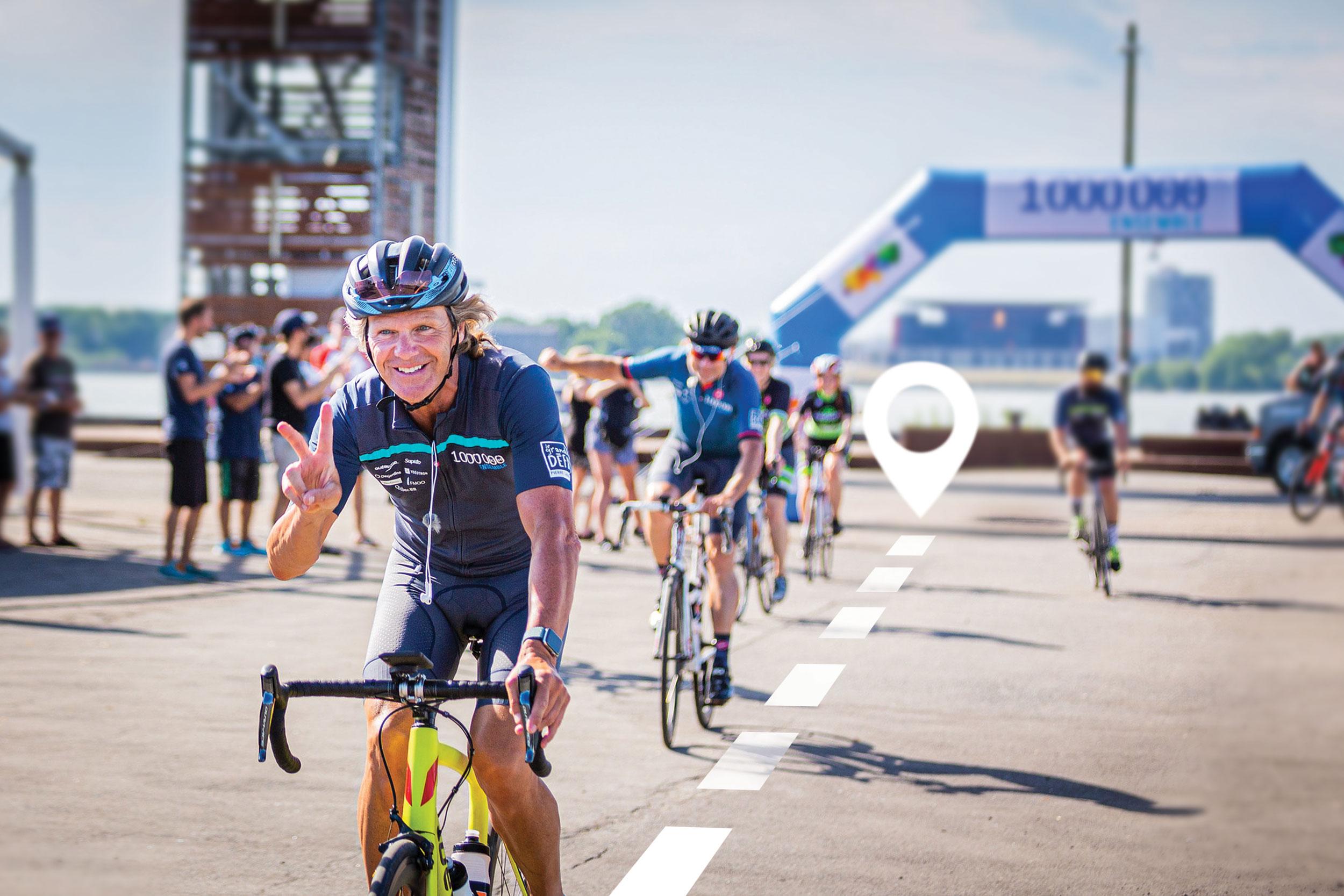 Grand défi Pierre Lavoie : Plus de 13 000 kilomètres parcourus au CSSDM!