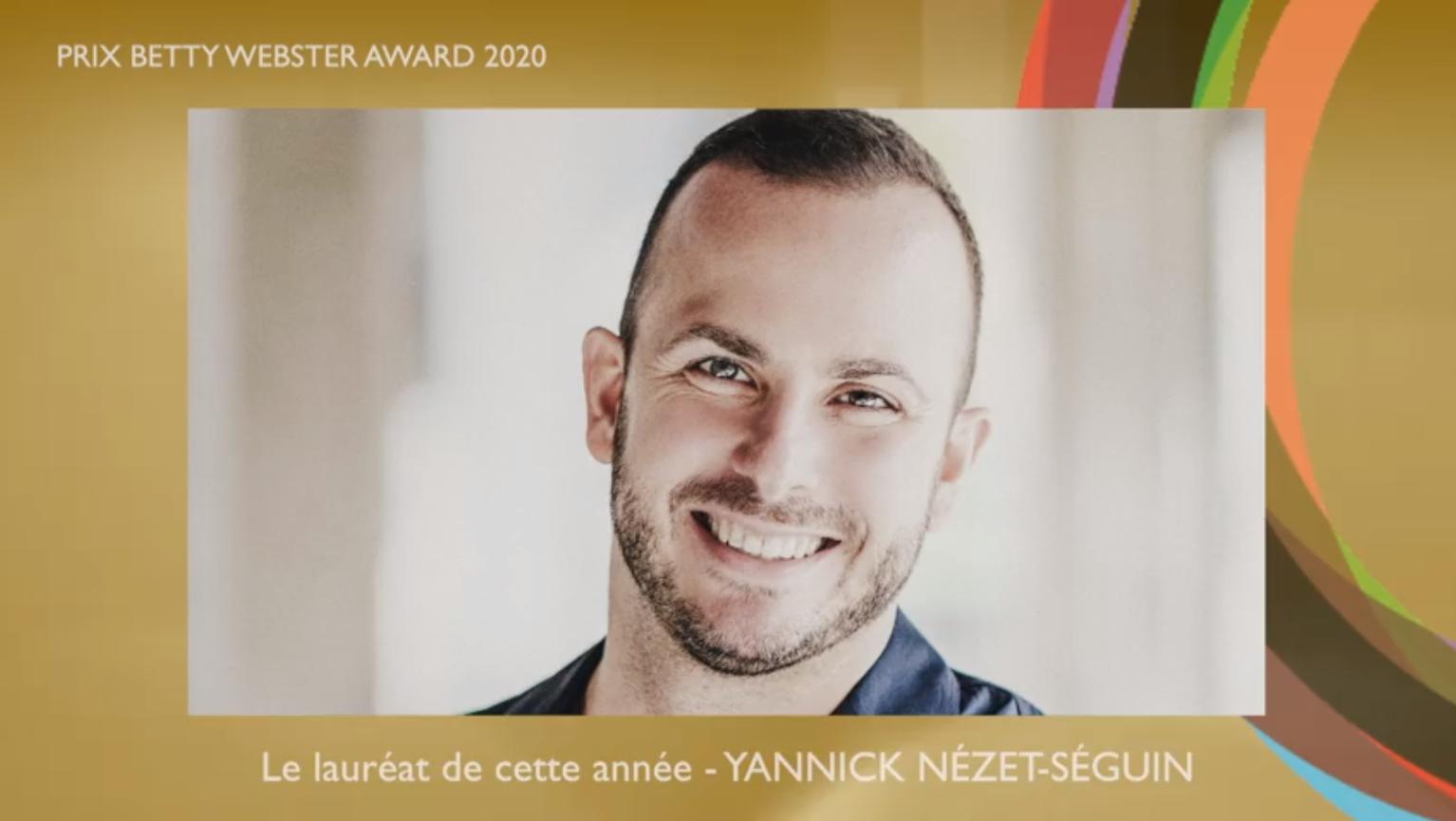 Yannick Nézet-Séguin contribue à la Fondation Joseph-François Perreault