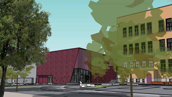 Un nouveau gymnase moderne pour l'école Saint-Jean-de-Matha